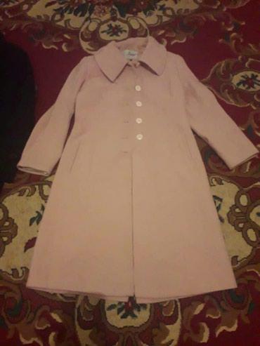 Продаю дешево женский пальто турецкого производства молочного цвета. в Бишкек
