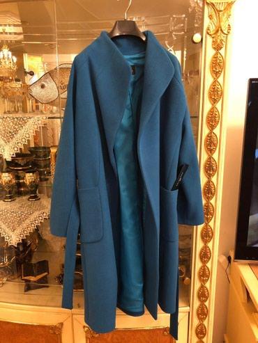 Bakı şəhərində Пальто бирюзовое, очень стильное и
