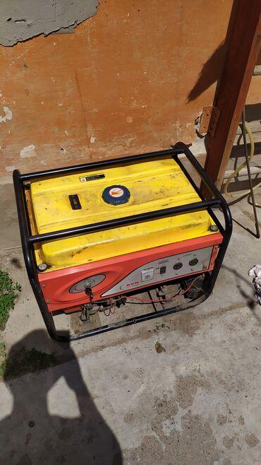 отопительные котлы на твердом топливе в бишкеке в Кыргызстан: Генератор 6.5 кw продаю . Пользовались мало. Состояние