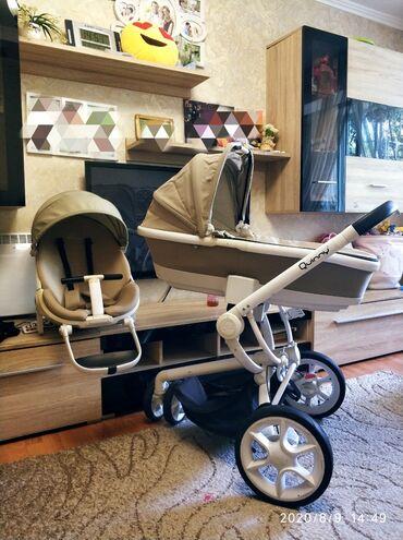 прогулочную коляску лёгкая и удобна в Кыргызстан: Продаю коляску Quinny mood Б/У в хорошем состоянии,в копмлекте люлька