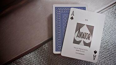 Настольные игры - Бишкек: Игральные Карты AVIATOR В далеком 1927 году американский летчик-герой