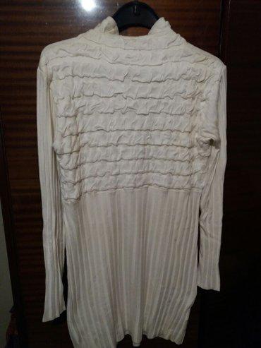 Novo tunika-haljinica bele boje univerzalna velicina - Vrnjacka Banja