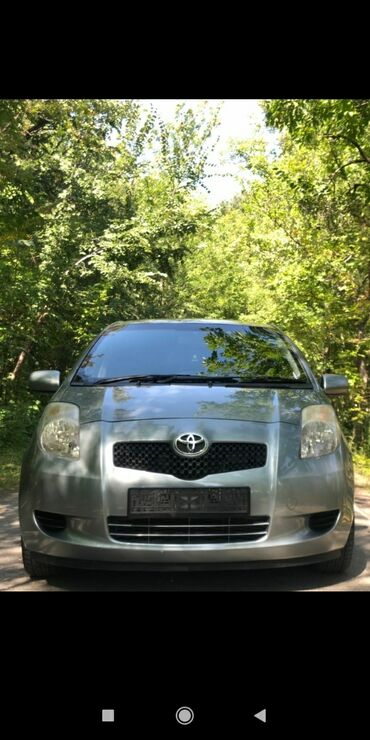 автомобиль toyota yaris в Кыргызстан: Toyota Yaris 1.3 л. 2008 | 160000 км