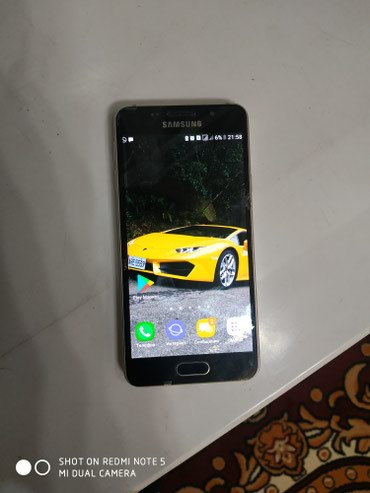 Samsung galaxy a3  телефон использован в чехле в Исфана