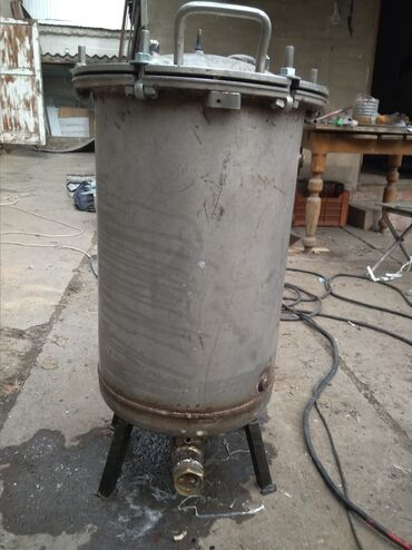 Автоклав для тушонки Нержав. Ёмкость 70 литров ( 27литр.банок)