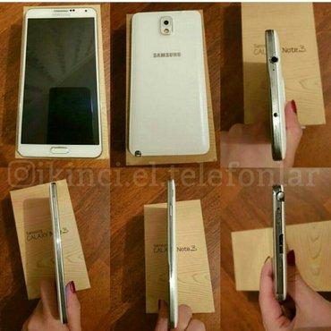 Xaçmaz şəhərində Samsung not3 n900 satilir yaddaw 32gb ram 3 teze kimidir reng getmesi
