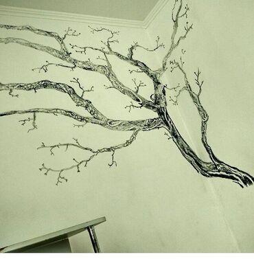 Рисуем на заказ на стенах ! Цена зависит от квадратуры и от сложности