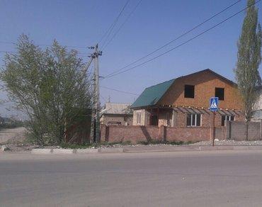 Угловой мансардный новый дом в Арча в Бишкек
