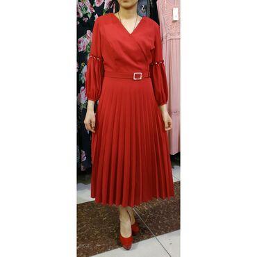 турецкое платье шифон в Кыргызстан: Платье Вечернее Exclusive M