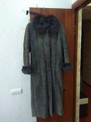 шуба 46 48 размер в Кыргызстан: Дублёнка натуралка Италия размер 46 48