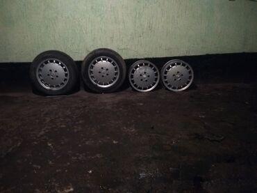 купить титановые диски на ниву в Кыргызстан: Продаю титановые диски от Мерседеса 5дырка размер 15 не вариные две