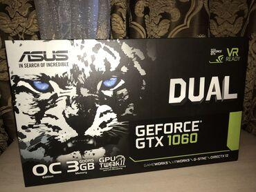 Продаю Видео карту, Geforce GTX 1060 3gb Dual Состояние как новая