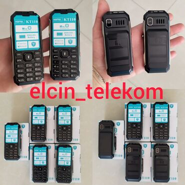 Model KT 110 Telefon Super zarytqa saxlayir.2Sim Kart Mikro Kart Ela