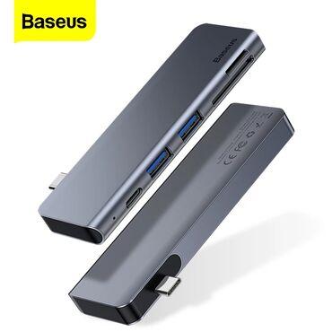 Baseus firmasinin universal 5in1 hub adapterType-c Type c adapter