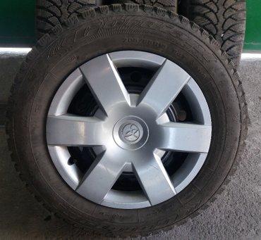 Зимние R15 колёса TOYOTA (5x114,3). 205*65*15. Колёса с тойоты камри в Бишкек