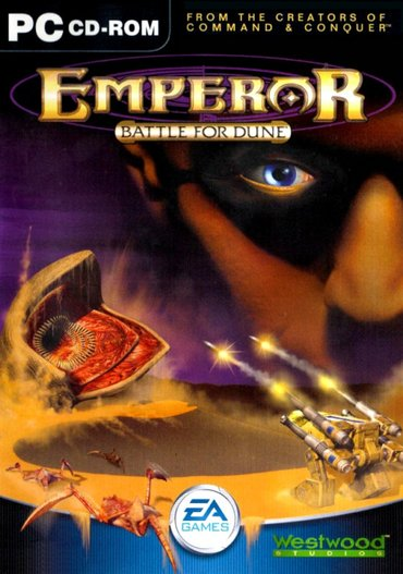Pc igra emperor - battle for dune (2001) - Beograd