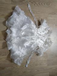 платье нарядное в Кыргызстан: Продаю нарядные платья б/у синий 100сом белый200розовый250сом