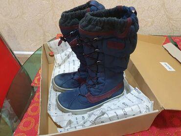 siemens a 35 в Кыргызстан: Продаю сапоги от фирмы ecco оригинал женские детские сапоги 36 размер