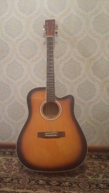 Акустическая гитара 6 струнная, размер в Бишкек