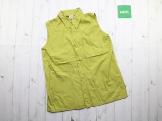Женская рубашка безрукавка Medium Длина: 66 см Пог: 44 см Материал: 10