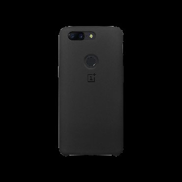 OnePlus 5T Silicone Protective Case Black в Бишкек