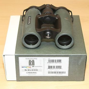1Unit από το Swarovski 10x32 EL32 Binocular κοστίζει 875 σε Athens