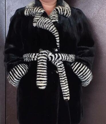 Продается норковая цельная шуба. Одевали всего 2 раза. Размер 50-52