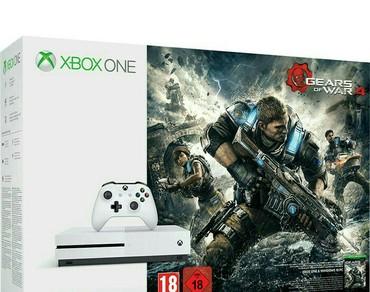 """Xbox One Azərbaycanda: XBOX """"OneS"""" Slim tezedi.sistem yaddawda coxlu oyunlar var eksklusiv"""