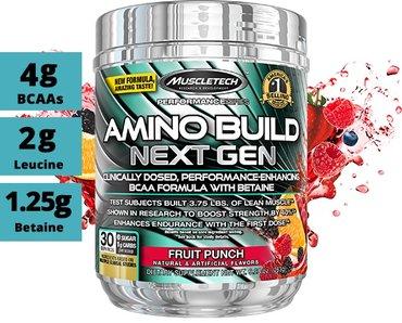 Аминокислоты MuscleTech Amino Build Next Gen (30 порц) в Бишкек