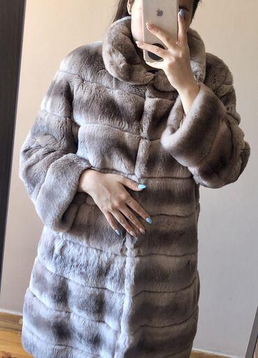 турецкое платья со стразами в Кыргызстан: Шикарная шуба из шиншиллового кролика Рекс. Очень мягкая и тёплая