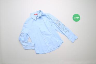 Дитяча сорочка з вишивкою та паєтками M&M, вік 8 р., на зріст 128