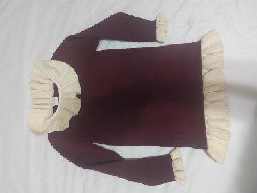Платье на 5-6 лет,теплое