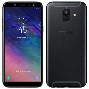 Samsung a 3 - Кыргызстан: Samsung Galaxy A6 32 ГБ Черный