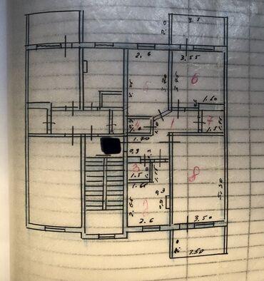 Недвижимость - Ош: 105 серия, 3 комнаты, 76 кв. м Раздельный санузел, Неугловая квартира