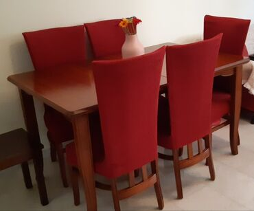 Έπιπλα από μασίφ ξύλο οξιάς πωλούνται (καναπές 3θ+2θ μαζί με σετ
