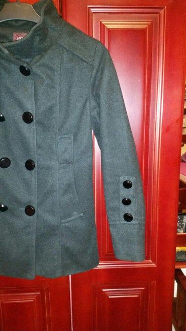 Crn zimski kaput, nov, nikad nije nošen, etiketa je samo skinuta, - Veliko Gradiste