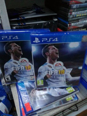 Bakı şəhərində Playstation 4 üçün fifa18 təzə upokovkada orjinal