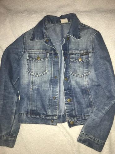 Teksas jakna zenska - Srbija: Decija zenska teksas jaknica, Demix br 10 Bez ostecenja