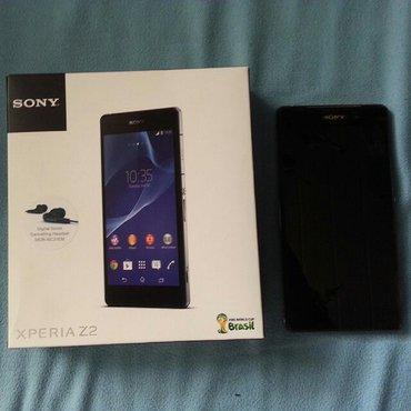 Sony xperia z2 в хорошем состоянии все заглушки на месте, в комплекте: в Бишкек