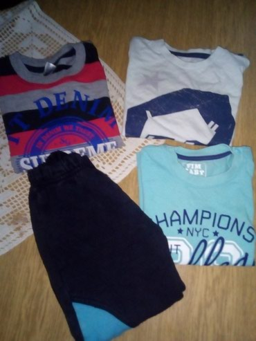 Dečija odeća i obuća - Sid: Duks, majica na duge rukave, majica na kratke rukave i donji deo