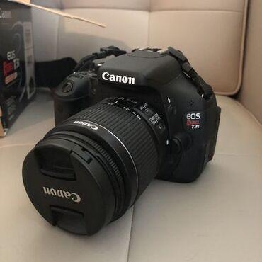 сканер canon в Кыргызстан: Eos rebel t3i ef-s 18-55mm is ii зеркальный фотоаппарат canon t3i (eos