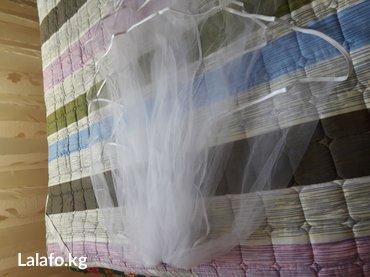 Срочно продаю фату. цвет белый. выглядить как фотографиях в Бишкек