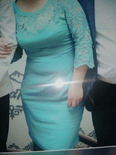 Личные вещи - Ош: Вечернее платье состояние отличное  размер 46 (своя цена 4000с)