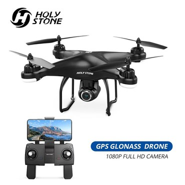 Квадрокоптеры - Беловодское: КвадракоптерHS120D дрон с GPS 1080 HD съёмка по вопросам пишите или