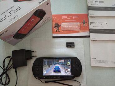 Sony PSP Street- QUTULU-İdeal vəziyyətdə PSP satılır.1-2 dəfə açılıb