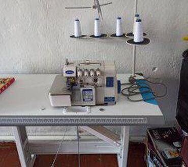 Срочно продается новый полуавтомат 5-нитка цена 30000