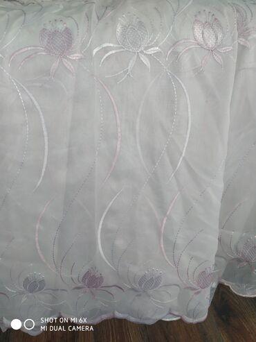 тюл в Кыргызстан: Продается тюль высота 3 метра, ширина 6 метров. Турецкая тюль