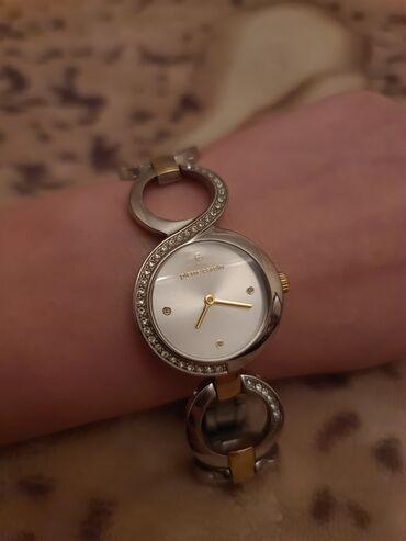 женские вышитые футболки в Азербайджан: Белые Женские Наручные часы Pierre Cardin