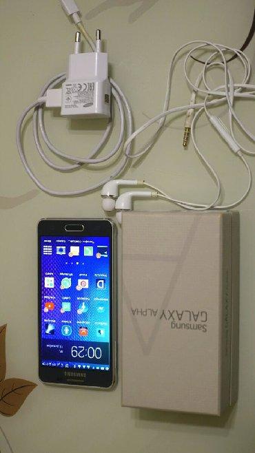 Телефоны флай андроид 5 - Азербайджан: Б/у Samsung Galaxy Alpha 32 ГБ Серебристый