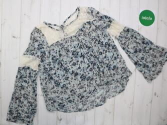 Стильная женская блузка Abercrombie&Fitch,р.M     Длина: 57 см Пле